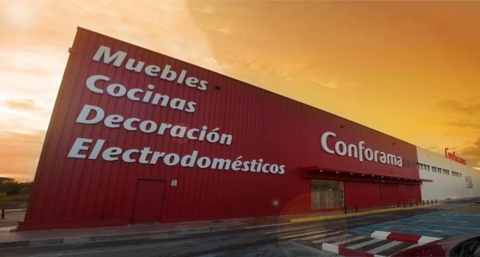 Conforama Abre Su Primera Tienda En Castellón Marrón Y Blanco