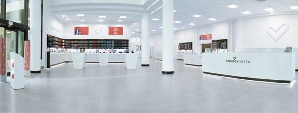 Energy sistem inaugura un showroom store en su sede central de finestrat marr n y blanco - De sede showroom ...