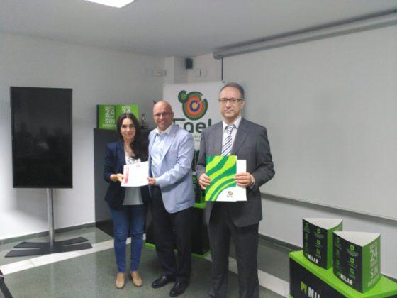 FAEL reconoce a nuevos establecimientos con el certificado de comercio eco-responsable