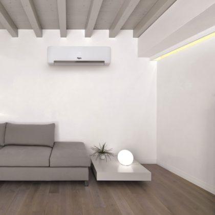 La tecnología 6th Sense, protagonista de la gama de aire acondicionado de Whirlpool, imagen ambiente