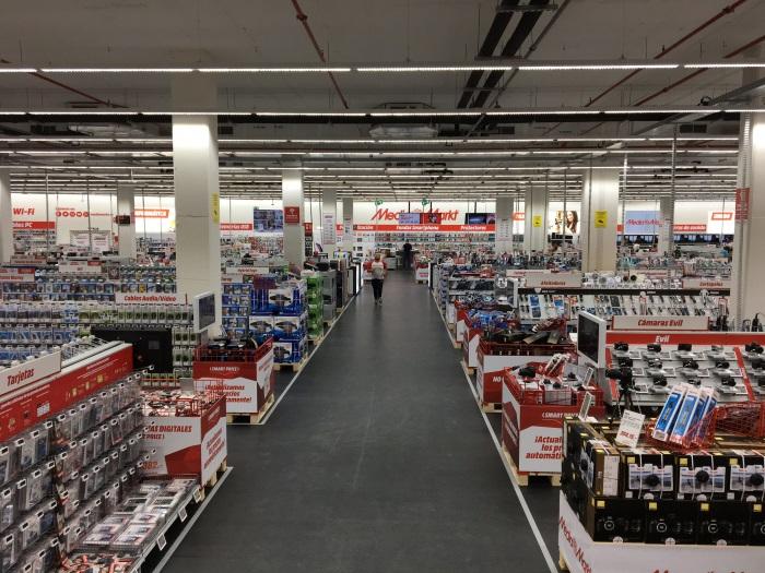 Media markt abre su segunda tienda en palma de mallorca marr n y blanco - Electrodomesticos segunda mano mallorca ...