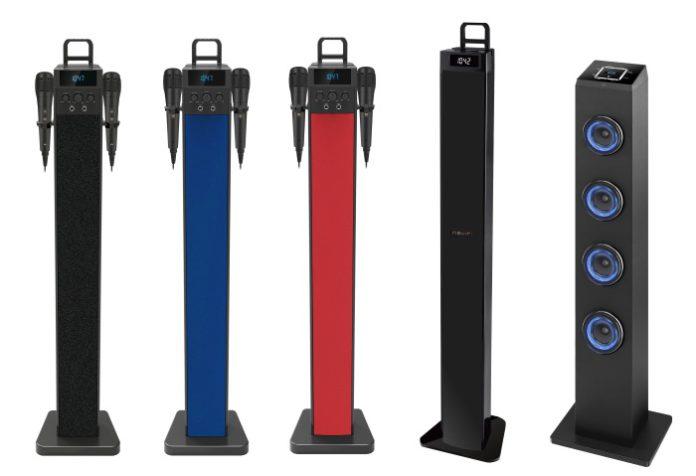 Nevir amplía su catálogo con una variada gama de torres de sonido Bluetooth